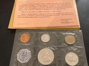 1963 United States US mint Philadelphia proof set