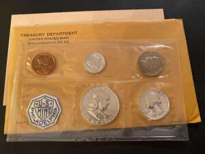 1962 United States Philadelphia mint set