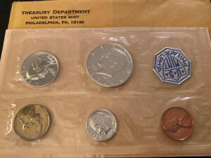 1964 United States Philadelphia mint proof set