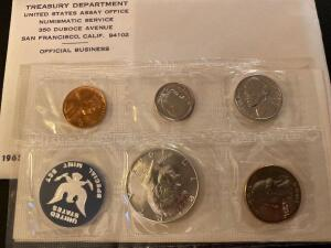 1965 United States San Francisco proof set