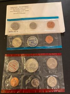 1970 San Francisco United States proof set