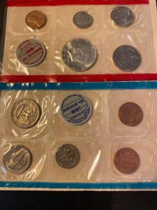 1969 United States San Francisco proof set