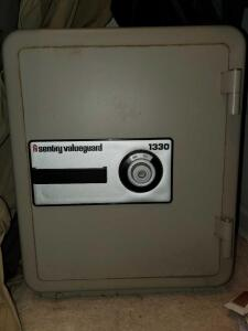 Century valueguard combination locking safe. Open but unknown combination.