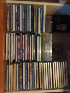 Collection of CDs (various artists)