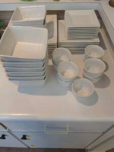 Pottery Barn dinnerware collection