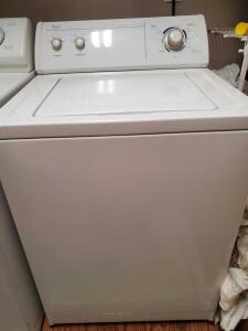 Whirlpool commercial quality, super capacity plus washer.