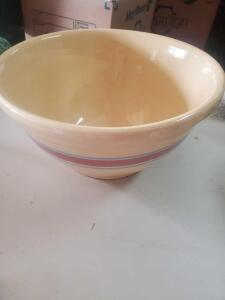 "A large ""watt"" 14 bowl, 7"" tall, diameter of 14"""