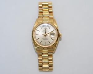 Men's 18 Karat Gold Rolex Watch