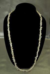 Baroque Pearl Necklace, Long