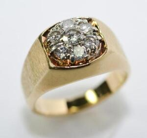 Gentleman's Diamond Ring