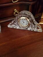 Clocks located in lower portion of secretary in the parlor. - 5
