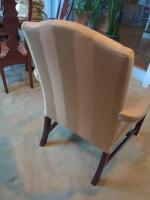 Pair of Statesville chair company armchairs - 8