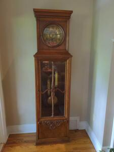 Amazing antique grandfather clock