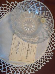 Lenox Lead Crystal Diamond Bowl
