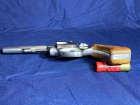 Model 63 Smith & Wesson 6 Shot .22 LR Revolver with original box - 9
