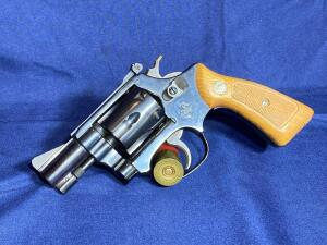 Smith and Wesson Model 34-1 .22 Caliber Revolver