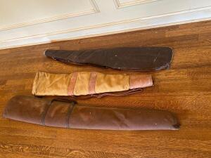 Three Cloth Gun Cases