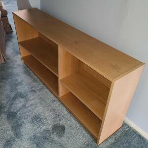 "Wooden bookcase 28.5"" x 56"" x 11.5"""