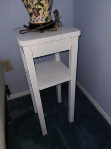 "Wooden table / plant stand 27"" x 11"""