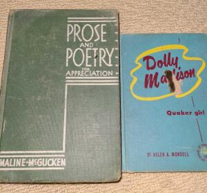 LOT OF OLD LITERARY WORKS. PROSE AND POETRY FOR APPRECIATION 1940. THE GREAT CRITICS 1932.