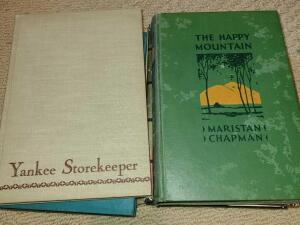 6 ANTIQUE NOVELS. THE CHAIN 1949. MOUNTAINS SINGING 1952. THE HAPPY MOUNTAIN 1928.
