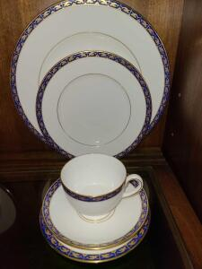 WEDGEWOOD CHINA SERVICE FOR EIGHT. 3 EXTRA SALAD PLATES.