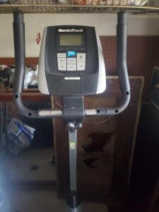 A NordicTrack I fit live lock down stationary bike, in great shape but a wire came lose and will need to be attached
