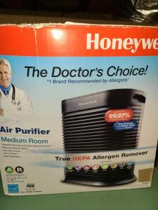 HONEYWELL AIR PURIFIER/ALLERGEN REMOVER MEDIUM ROOM
