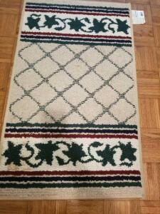 "TWO AREA RUGS BY GOOD HOUSEKEEPING 41"" by 24"""