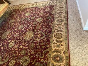 Area rug, India Wool Pile hand crafted Oriental