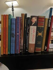 Grouping of historical books. See all photos.