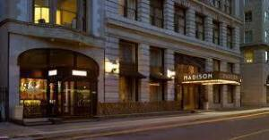 Madison Hotel  Artful Sophistication in Downtown Memphis One Night Stay in an Executive Suites