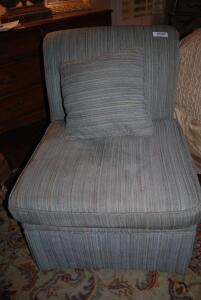 Armless Chair by Vanguard - includes pillow