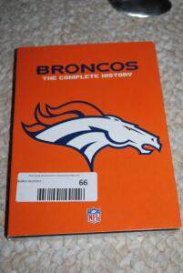 Broncos DVD, Complete History of the NFL Films, and Legends of Autumn - Volumes I - III