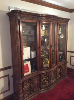 Glass Front China Cabinet