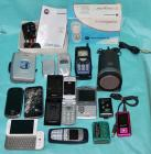 Misc. Lot of old cell phones + some misc. electronics