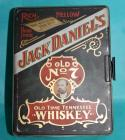 Vintage Jack Daniel's Tin and Poker Chip set with 2 decks of cards