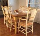 Eddy West Dining Table and 6 Chairs