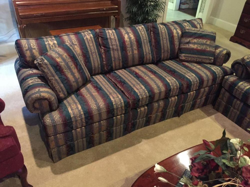 Large Green Thomasville Couch