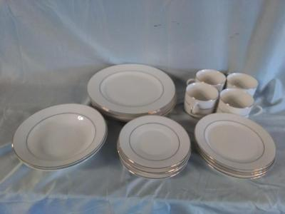 Lot 82 of 203 18 Piece Set of Totally Today Dinnerware & 18 Piece Set of Totally Today Dinnerware