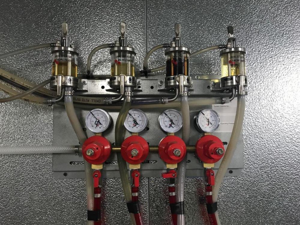 Micro Matic Quadruple Gauge Regulator Panel with Four
