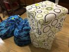 Bean bags and cloth storage containers