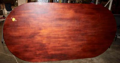 Handmade Large Oval Table Top made from ONE large piece of beautiful wood!!