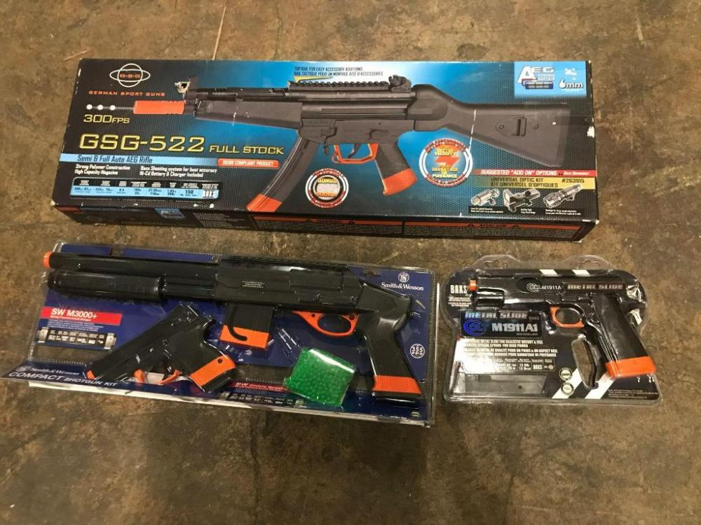 German Sports Guns GSG-525 Full Stock, Smith and Wesson Combat