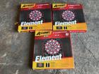 3 Accudart Element Electric Dartboards