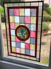Lovely stain glass window