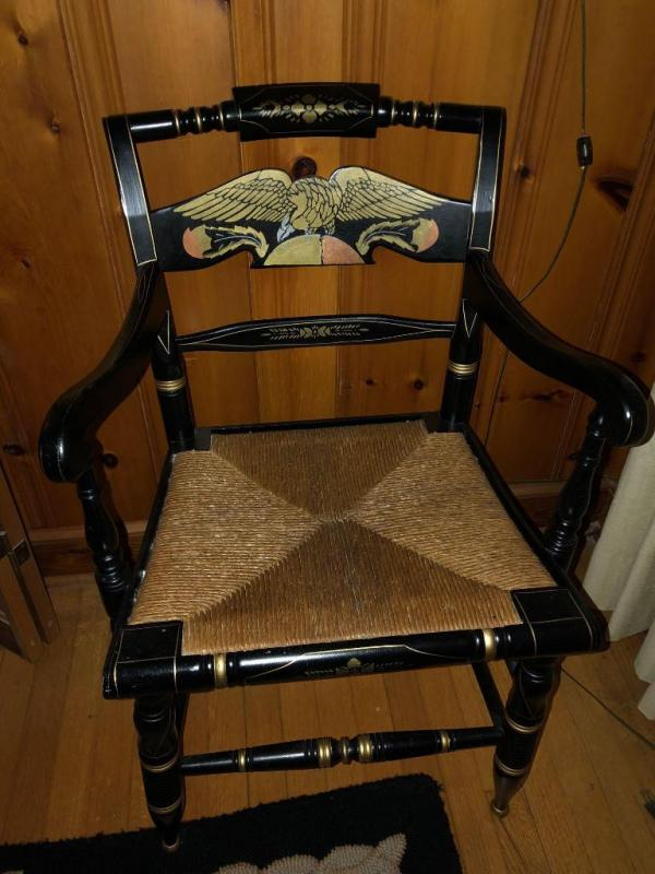 Lot 40 Of 335: Ethan Allen Hitchcock Chair