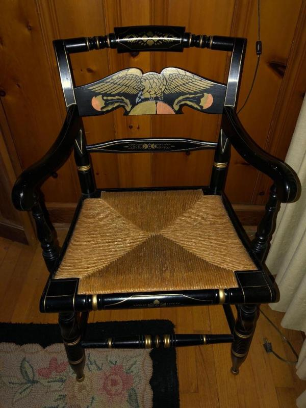 Lot 43 Of 335: Ethan Allen Hitchcock Chair
