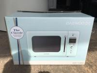 Daewood DC Classic Retro Style Microwave