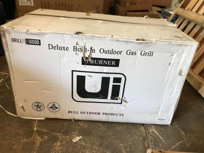 Deluxe Outdoor Products 5 Burner Built In Outdoor Gas Grill